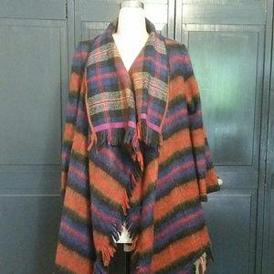 Anthropologie Shawl Coat